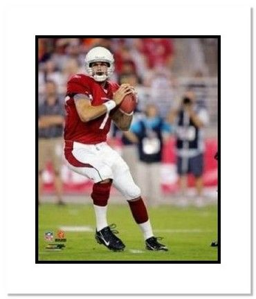 """Matt Leinart Arizona Cardinals NFL """"Passing"""" Double Matted 8"""" x 10"""" Photograph"": ""There is no… #Sport #Football #Rugby #IceHockey"