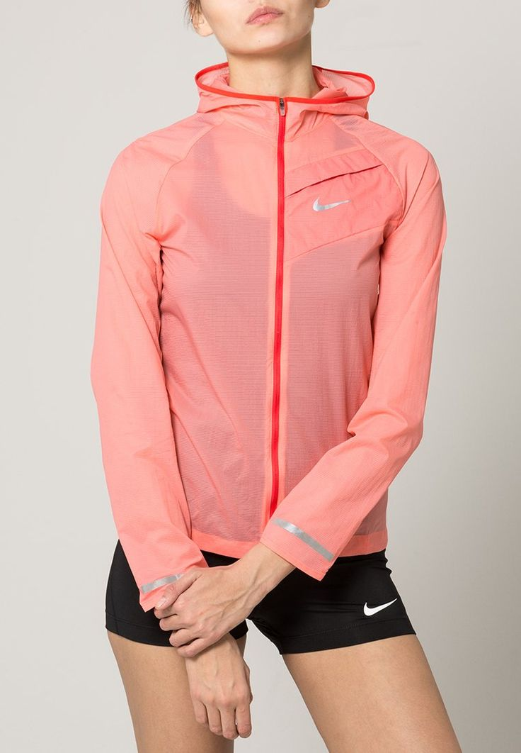 Nike Performance Hardloopjack - sunbluch/daring red/reflective silver - Zalando.be