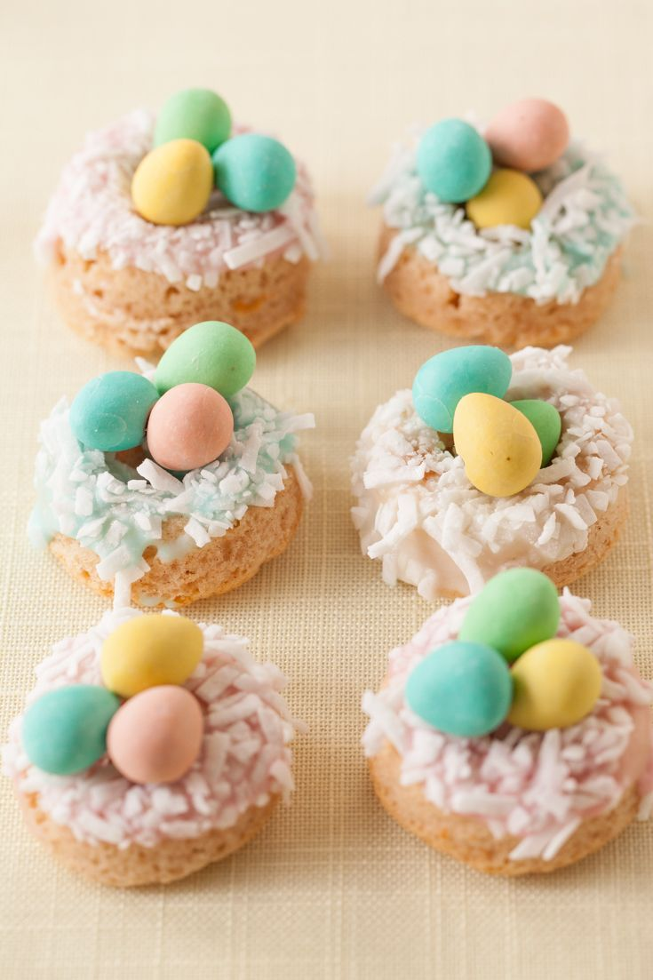 Epicure's Easter Buttermilk Glazed Doughnuts