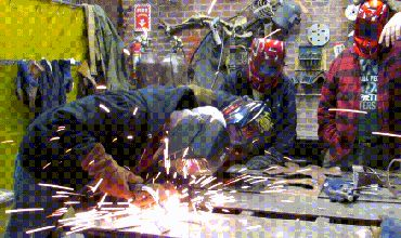 Sparks Fly with a Couples Welding Class on Valentines Day