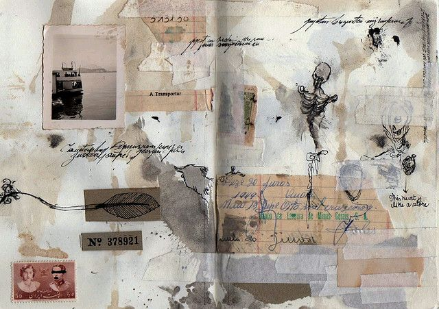 Journalling; artist sketchbook // Thyer Machado