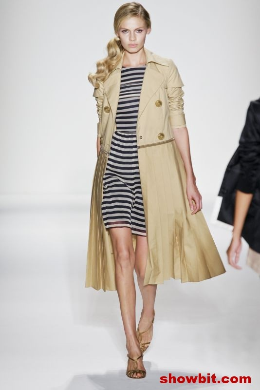 Alexander Berardi skirt pleated trench