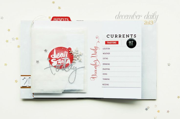 December Daily pages 6th::7th by ania-maria at @Studio_Calico