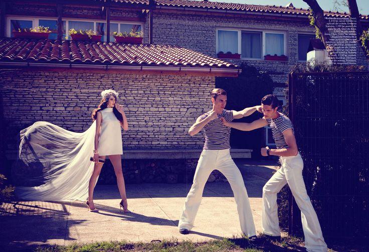 TIBI CLENCI - ELLE Mariage Summer 2013 - STEFANIA IVANESCU, KAAN TILKI & BOGDAN TUDOR copyright by Tibi Clenci