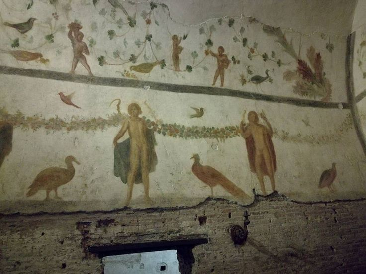 Italia, passeggiando per Roma,  case romanr al Celio