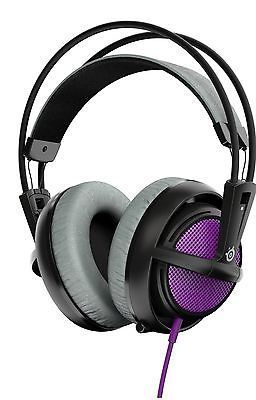 ﹩46.99. SteelSeries Siberia 200 Gaming Headset - Sakura Purple (Siberia v2). Fast shipp    Color - Sakura Purple, Style - Siberia 200, EAN - 0813682021696, UPC - 813682021696