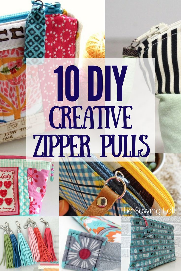 10 DIY Creative Zipper Pull Tabs