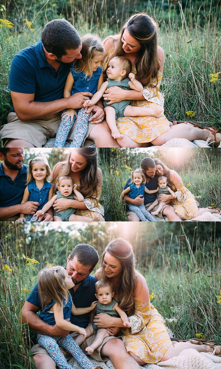 family photography | childrens photography | family of four 4 | wildflowers | field photography | summer photography | family what to wear | Elyse Rowland Photography