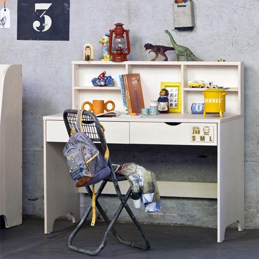 Les 7 meilleures images propos de bureau et chaises enfants sur pinterest - Chambre et bureau dans la meme piece ...