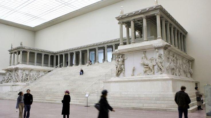 ołtarz pergamoński - 180-160pne.