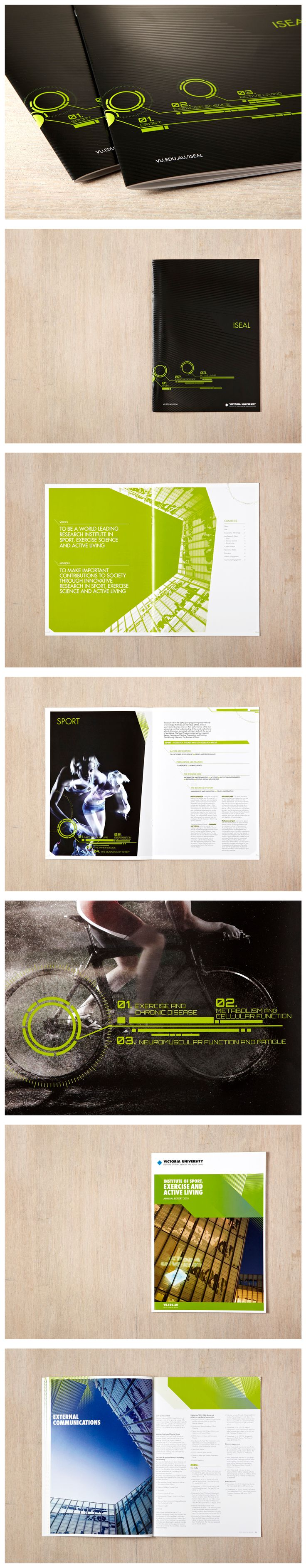 ISEAL's mission is to be a world-leading sports research institute, but their branding and marketing material were looking decidedly unsophisticated. Liquid's brief was to turn that perception around and help ISEAL project their state of the art research and technology. Liquid injected energy into a new design for ISEAL's printed material, collaborating with the institute's leaders to build a marketing platform that communicated the strength of their research to industry.
