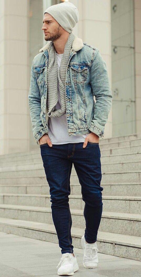 Blue Jean  Style #mensoutfitswinter