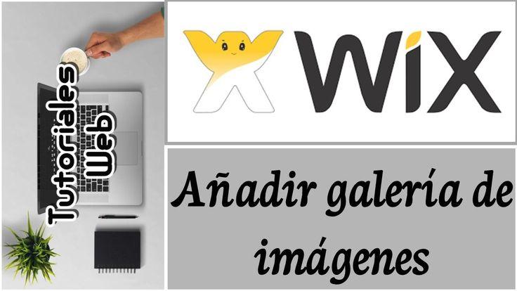 Wix 2017 - Añadir galería de imágenes (español)