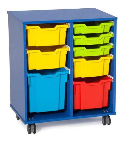 Fireball Mobile Storage 700 wide – Trays as shown