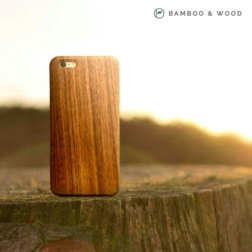 iPhone 6 Wood Case in Walnut by Bamboo & Wood