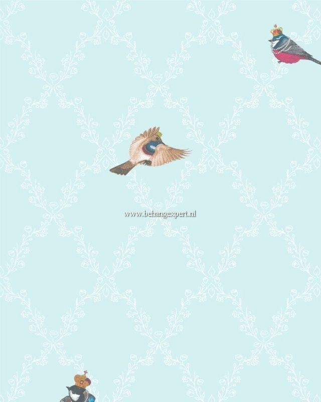 Kinderbehang Glööckler Children`s Paradise 54111 vogeltjes