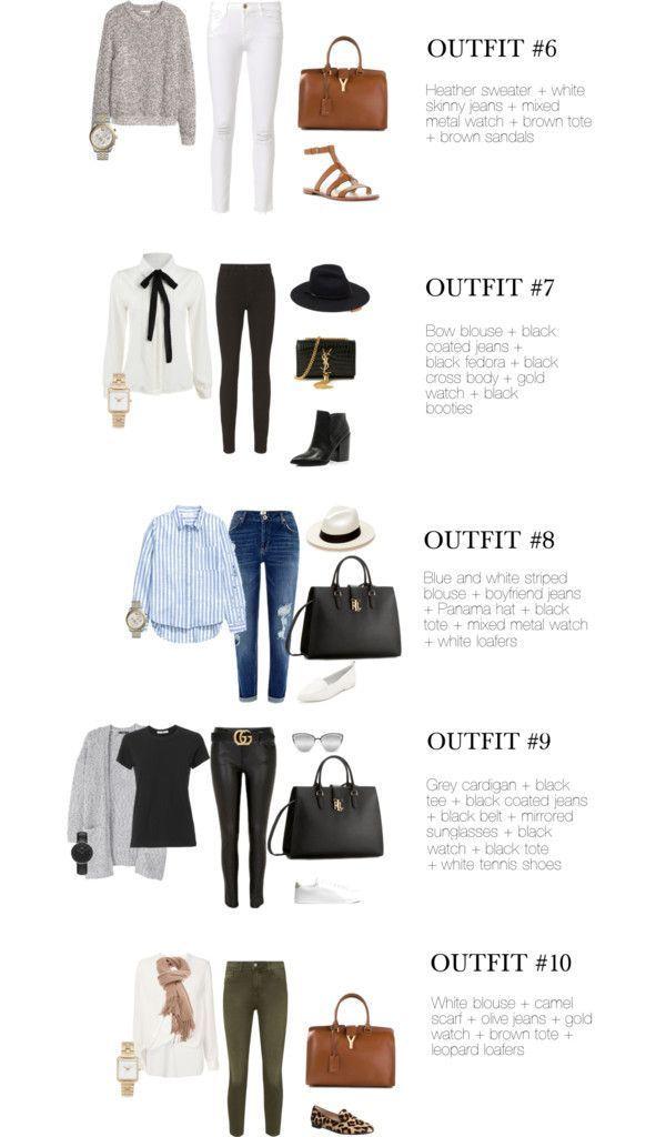 25 + › Chic Street Style 10 Chic Airport Outfits, die eigentlich nur ein Top + Jeans-P …