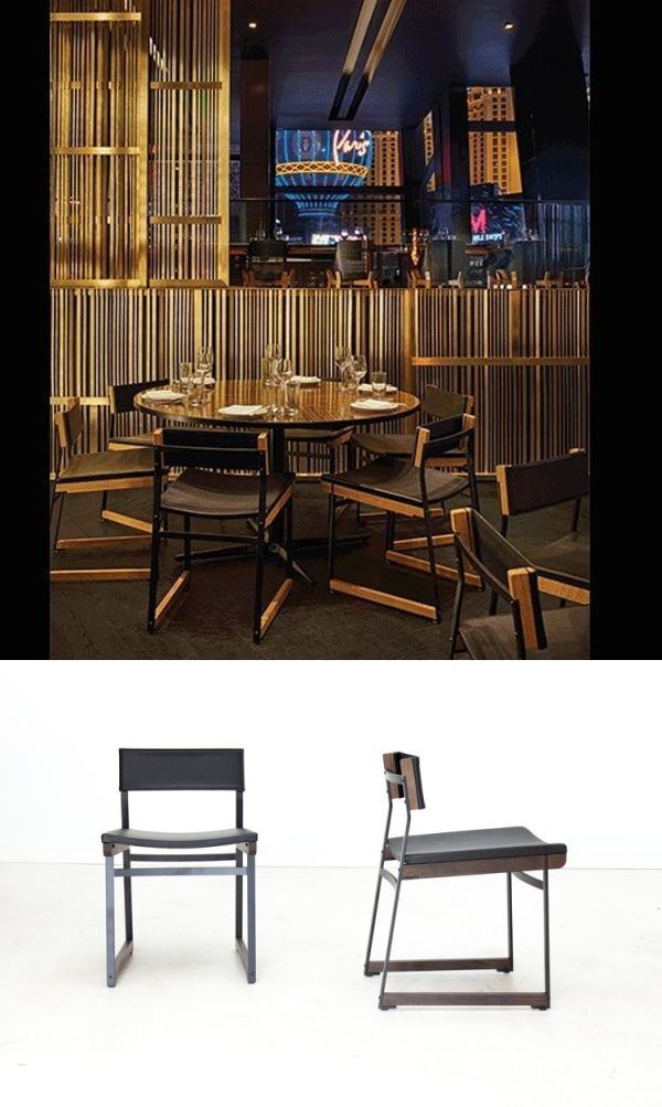 Catenary Chair By Token At Momou Las Vegas Solid Wood Furniture Custom