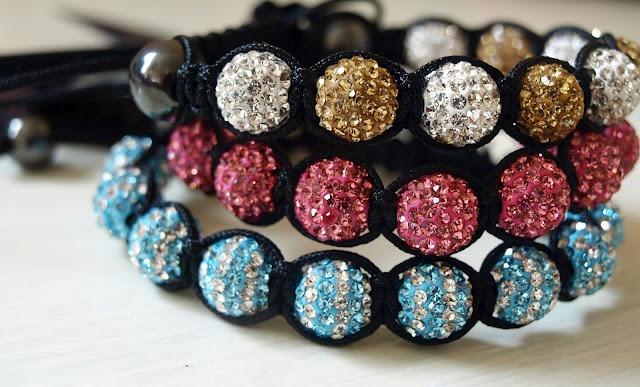 cutey Shamballa Bracelets