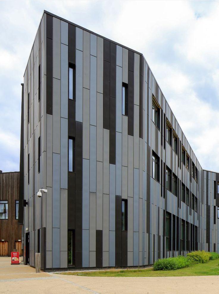 90 best zinc facades images on pinterest facades facade for Architecture zinc