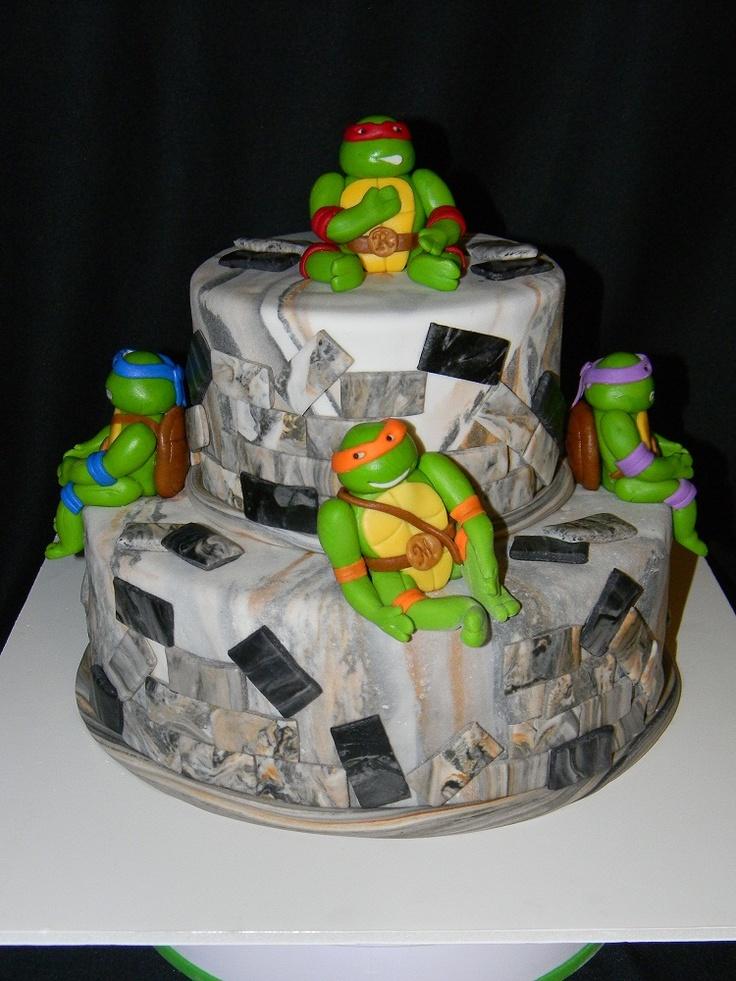 27 Best Ninja Turtle Cake Images On Pinterest Ninja