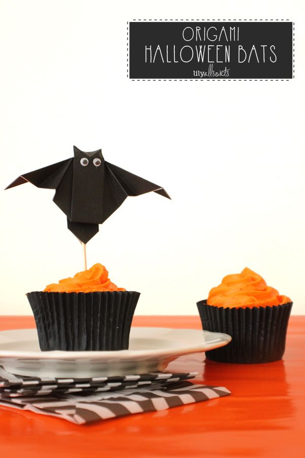 origami bat tutorial lilyallsorts