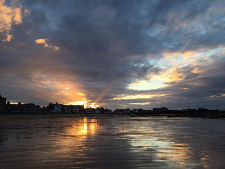 North Berwick, Sunset