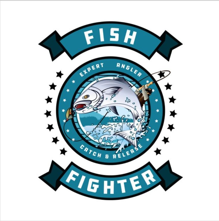 Fish Fighter | Funny Fishing Graphic T-Shirt