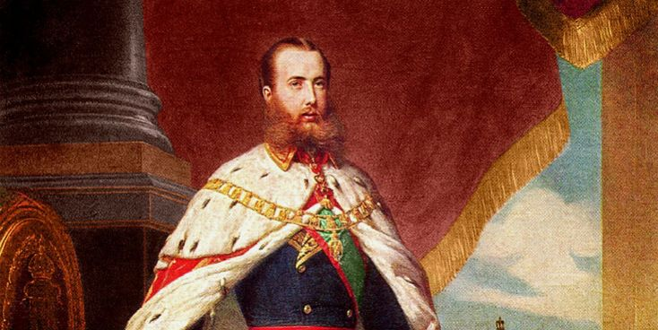 Cuando Maxiliano de Habsburgo llegó a México tuvo problemas para adaptarse a los usos y costumbres de los mexicanos que no se adapabam a los protocolos...