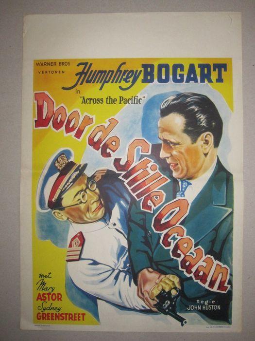 Online veilinghuis Catawiki: Film: Across the Pacific- Humphrey Bogart- 1942