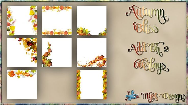Autumn Bliss - AO2 - Overlays