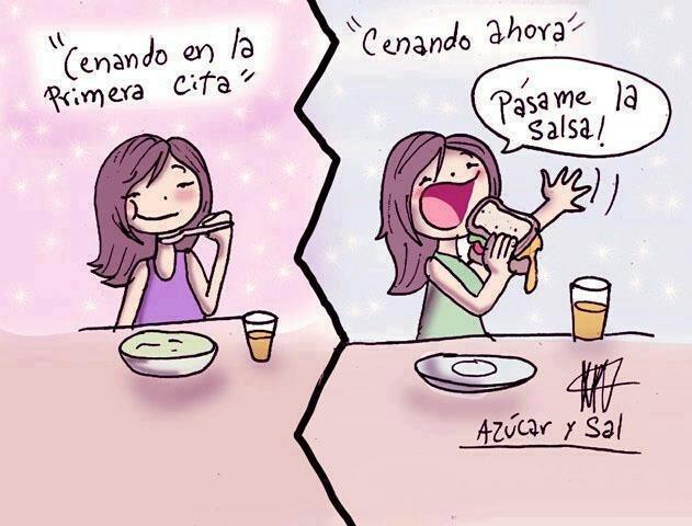 Azúcar y Sal First date...