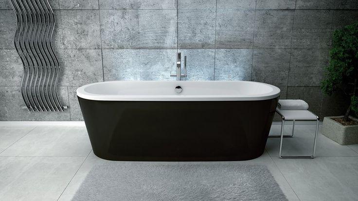 Wolnostojąca wanna VICTORIA o prostej i eleganckiej formie, z pewnością nada każdej łazience charakteru salonu kąpielowego! Dostępna jest w dwóch wymiarach 160 x 75 cm oraz 180 x 83 cm.   Wanna zdaniem Konsumentów jest najlepszym produktem do łazienek 2015❕