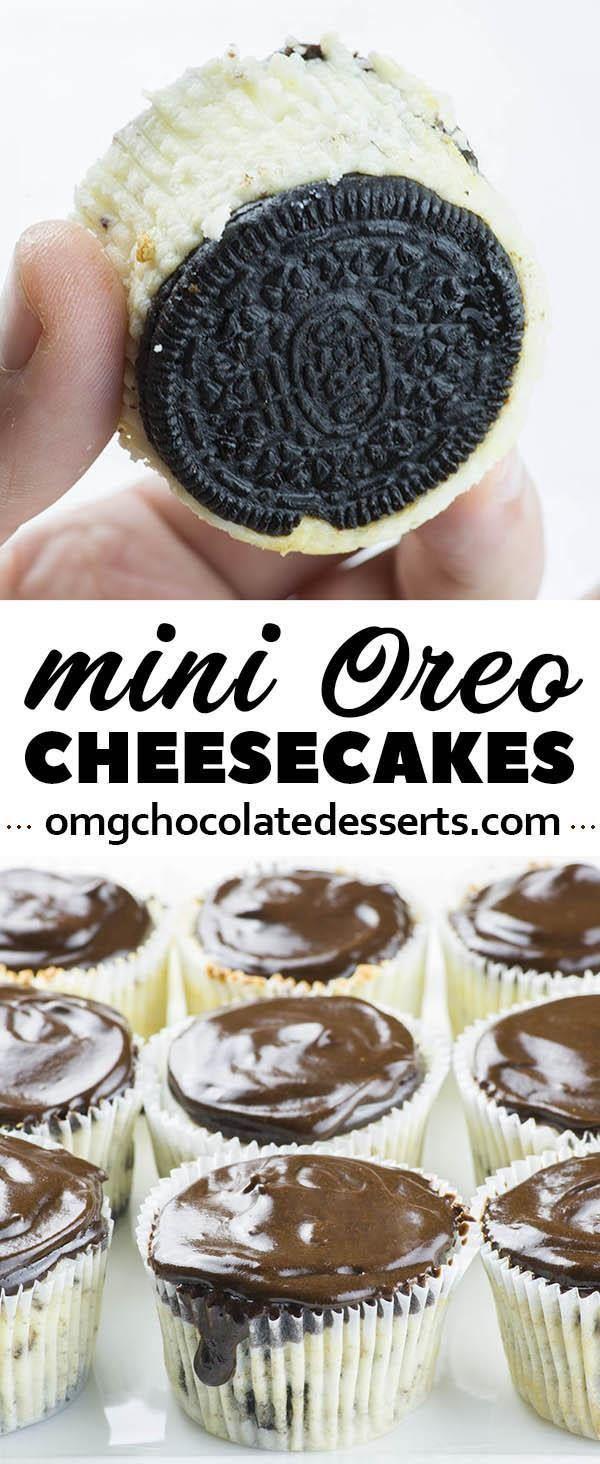 Mini Oreo Cheesecake Recipe In 2018 Recipies Pinterest Mini