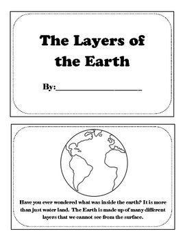 This book explains the layers of the simple with simple facts of the inner core, outer core, mantle, and crust. Students can color each layer and use as a quick reference for their science unit.