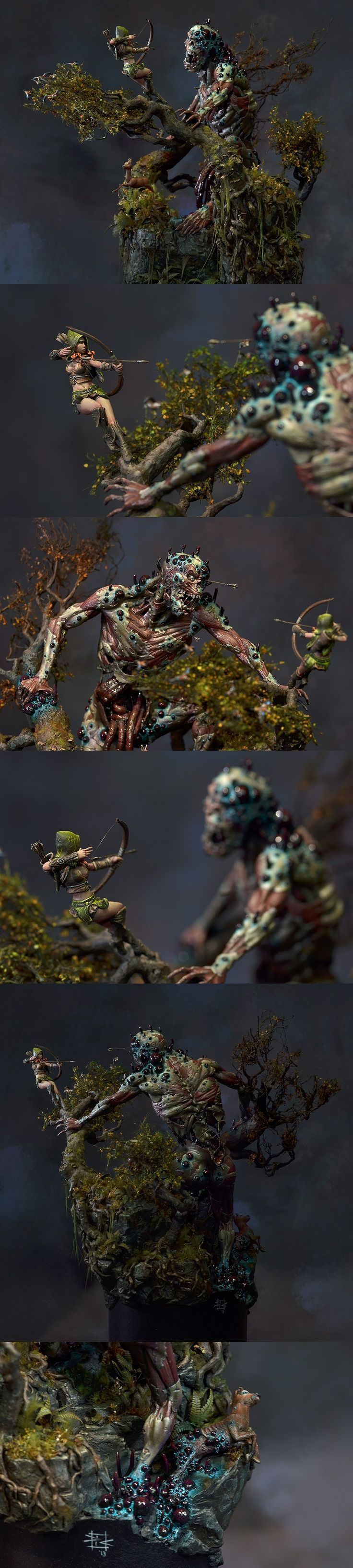 Touch of Death - Detail View. could you strip flesh on tyranids