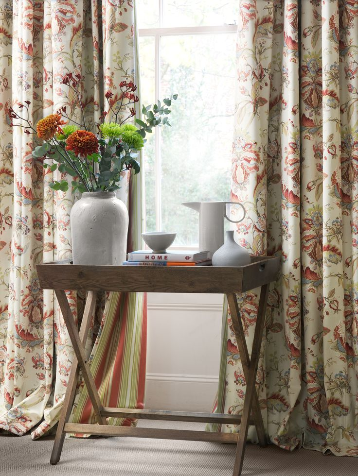 Tranquility, from the Bellevue Prints Collection. #Fabrics #Prints #InteriorDesign