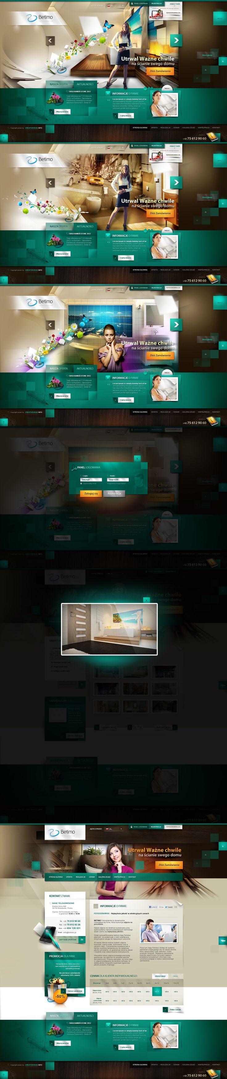 Betimo.pl - liquide website by webdesigner1921.deviantart.com
