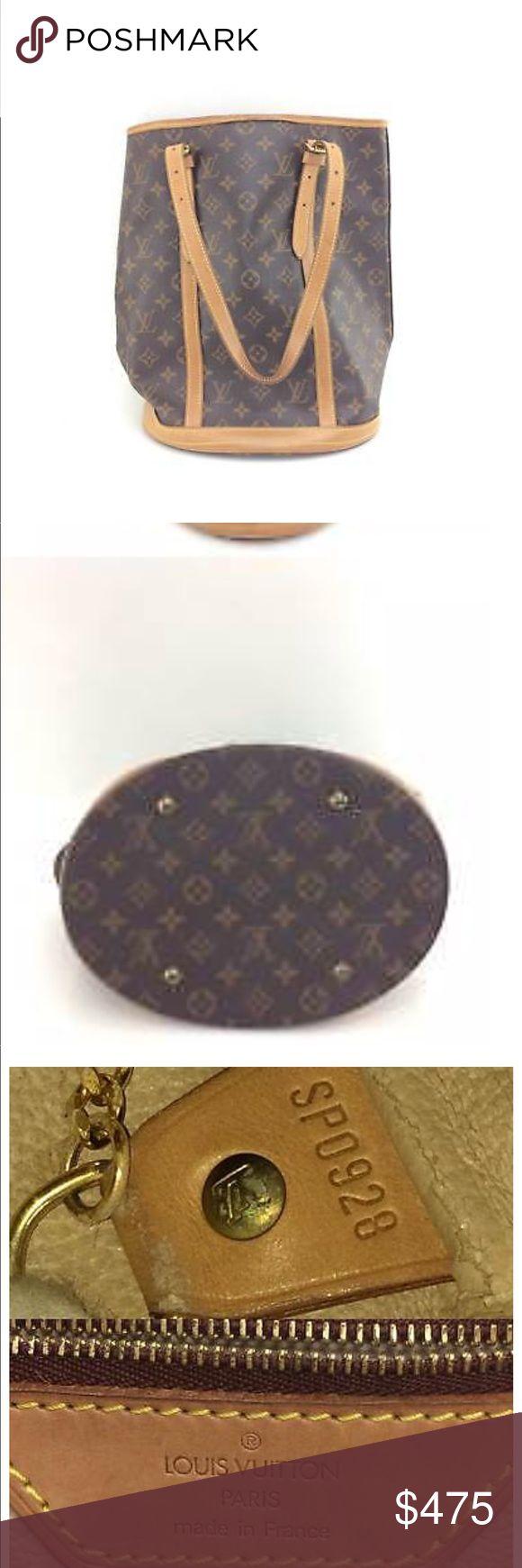 Louis Vuitton Bucket PM Vintage Louis Vuitton Bucket Bag Louis Vuitton Bags Shoulder Bags