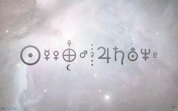 solar system symbols - photo #4