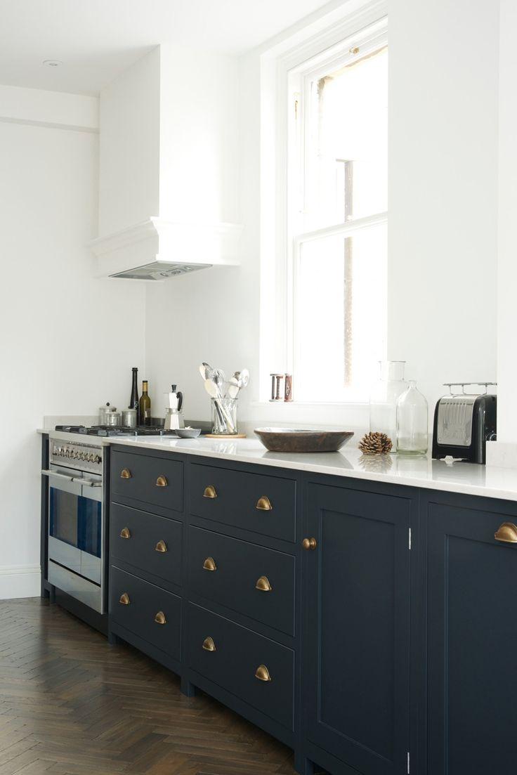 Midnight Blue Kitchen Cabinet Kitchen In 2019 Blue