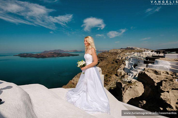 Wedding in Agia Irini  Santorini