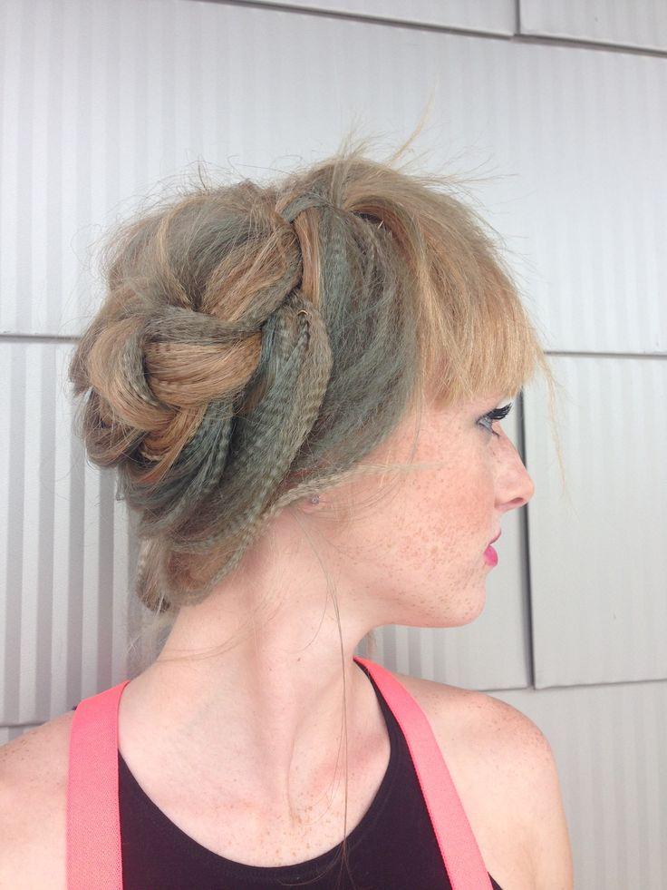how to do a fish braid hair