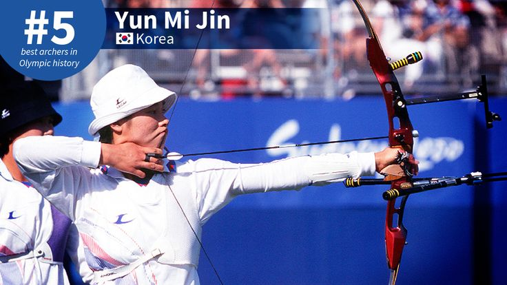Best Olympic Archers of All-Time: #5 Yun Mi Jin