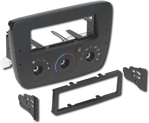 Metra - Dash Kit for Select 2000-2003 Ford Taurus/Mercury Sable no electronic controls - Black
