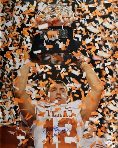 Colt McCoy Signed 16x20 Photo - JSA #SportsMemorabilia #TexasLonghorns