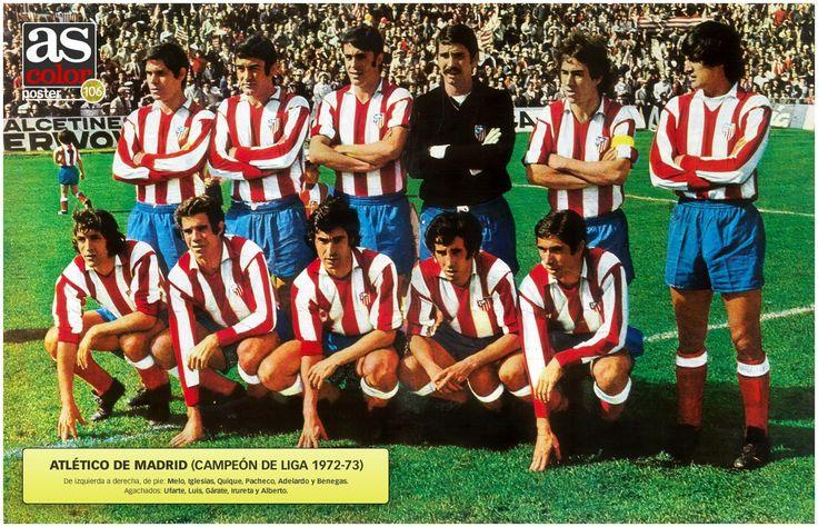 Atlético de Madrid, campeón de Liga (1972-73)