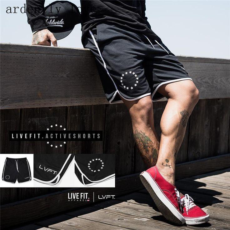 >> Click to Buy << Herren sommer stil turnhallen fitness bodybuilding shorts Mode freizeit trocknen Schnell Breathable Coole Marke kurze Hose #Affiliate