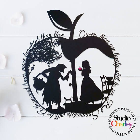 Check out this item in my Etsy shop https://www.etsy.com/uk/listing/527217694/snow-whites-apple-papercutting-template