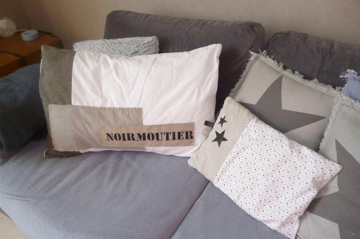 coussin Noirmoutier fait maison